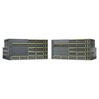 WS-C2960+24PC-S Cisco Catalyst 2960 Plus 24 10/100 PoE + 2 T