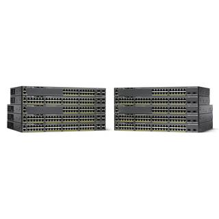 WS-C2960X-48FPS-L Cisco Catalyst 2960-X 48 GigE PoE 740W 4